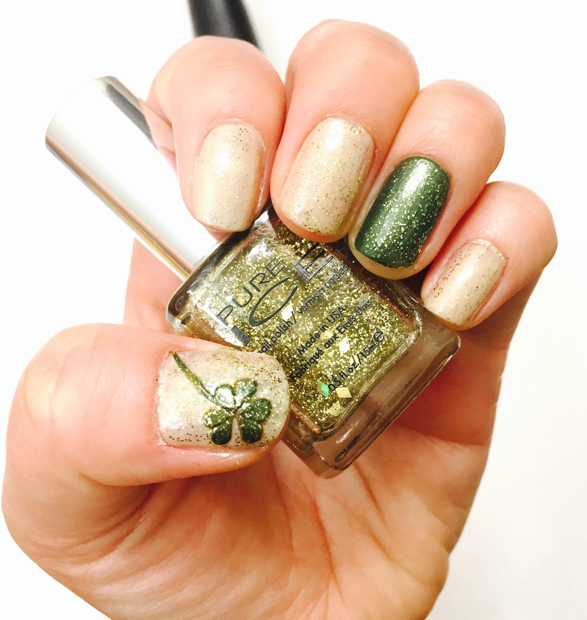 St. Patrick\'s Day Nails – the how to duo